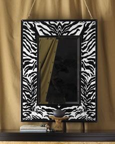 Zebra Mirror (Horchow)